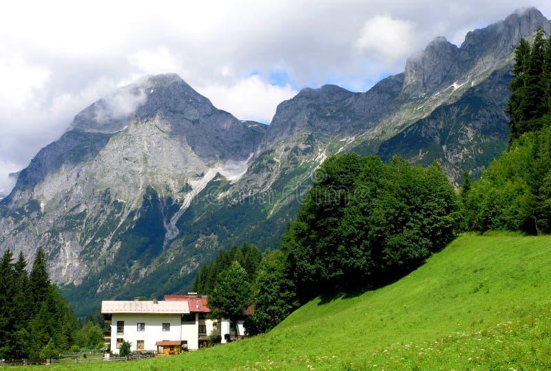 Montanhas austríacas foto de stock royalty free