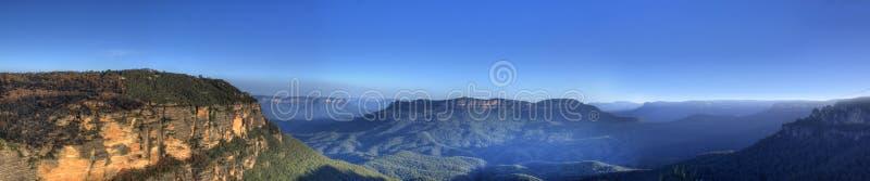 Montanhas azuis fotos de stock royalty free