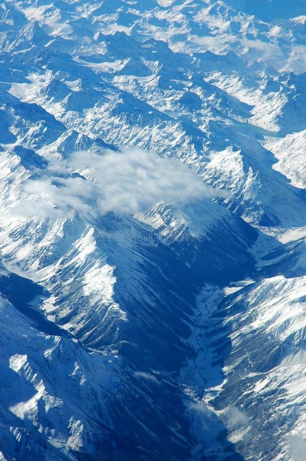 Montanhas Azuis Fotografia de Stock