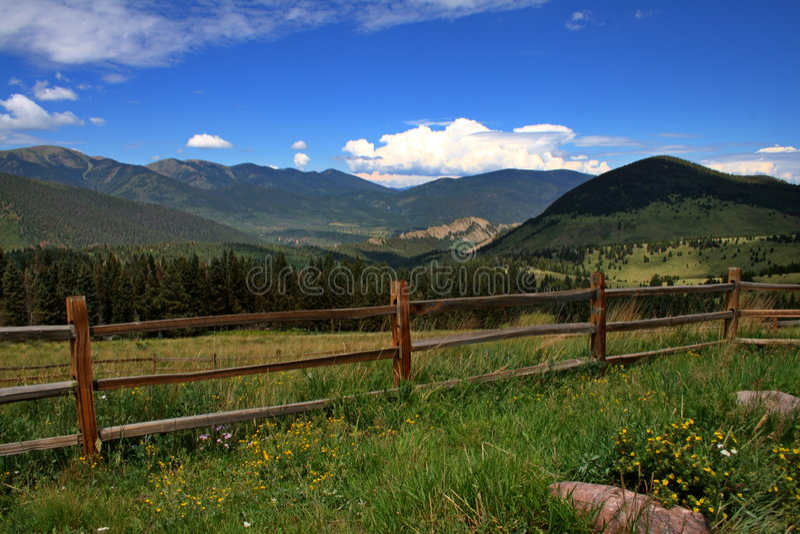 Montanhas bonitas imagem de stock royalty free