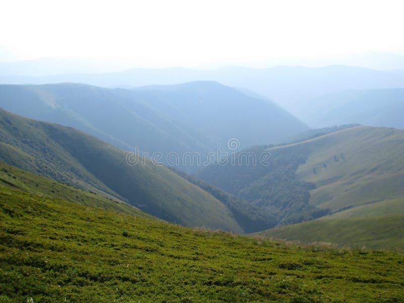 Montanhas Carpathian, o oeste de Ucrânia fotos de stock royalty free