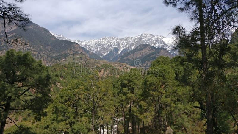 Montanhas da neve fotos de stock royalty free