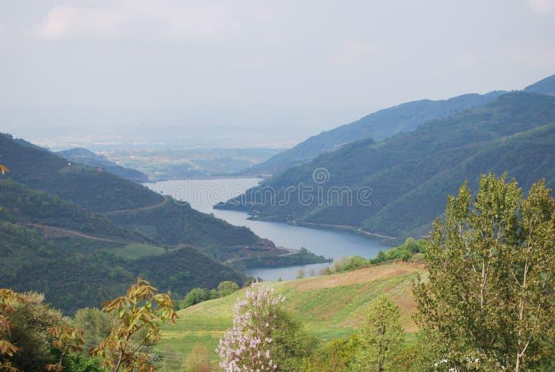 Montanhas da paisagem em Turquia foto de stock royalty free
