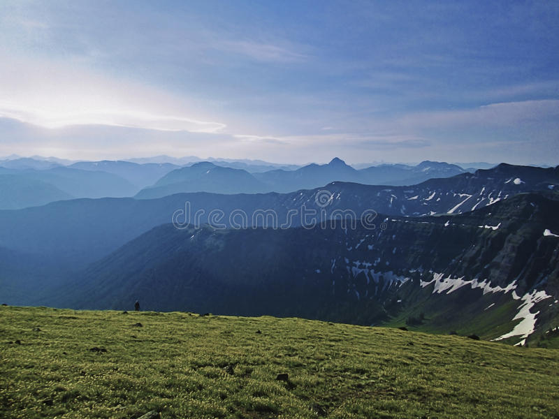 Montanhas de Absoroka, Montana imagem de stock royalty free
