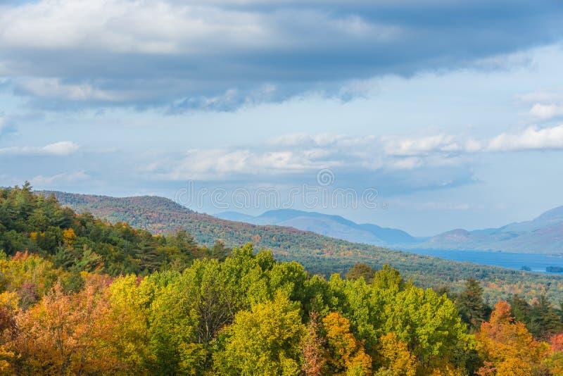 Montanhas de Adirondack fotos de stock royalty free