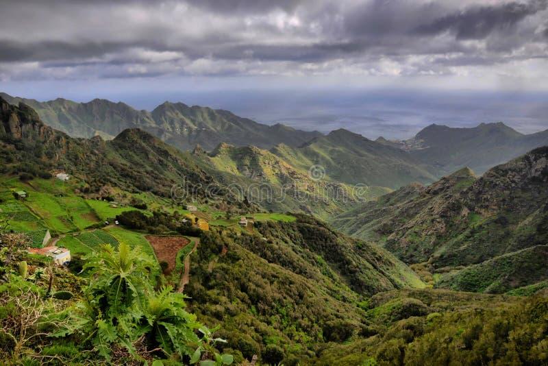 Montanhas de Anaga fotografia de stock royalty free