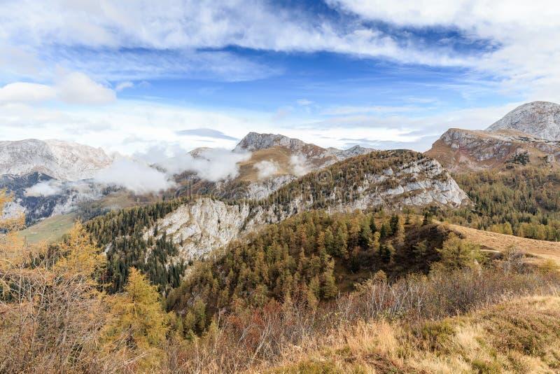 Montanhas de Berchtesgaden fotografia de stock