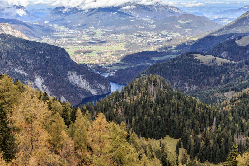 Montanhas de Berchtesgaden foto de stock