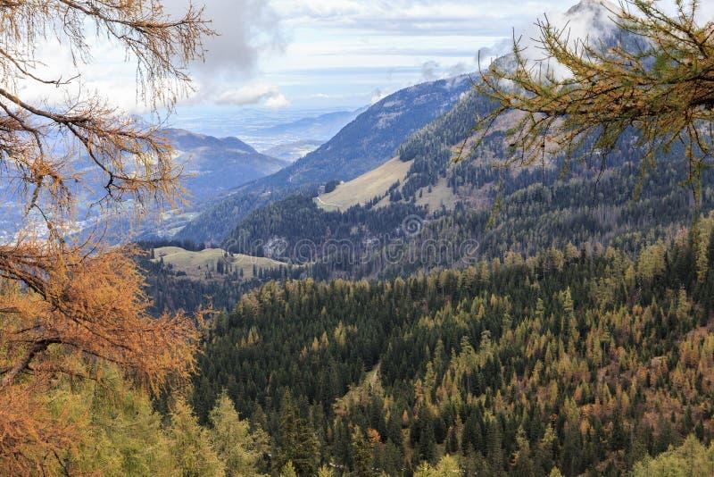 Montanhas de Berchtesgaden imagem de stock royalty free