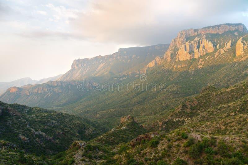 Montanhas de Chisos foto de stock royalty free