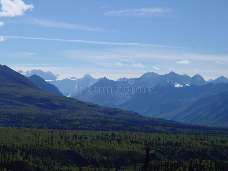 Montanhas de Chugach fotografia de stock royalty free