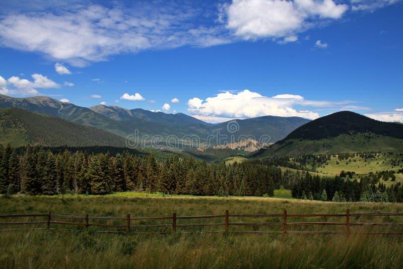 Montanhas de Colorado fotografia de stock royalty free