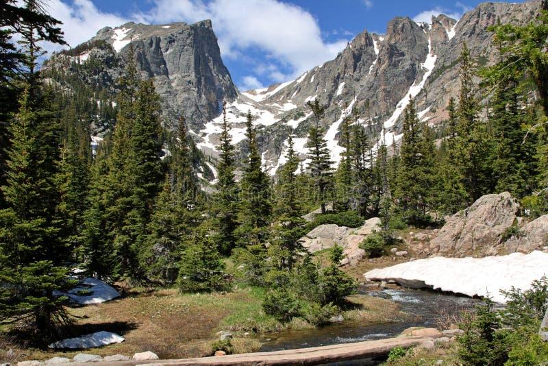 Montanhas de Colorado imagens de stock