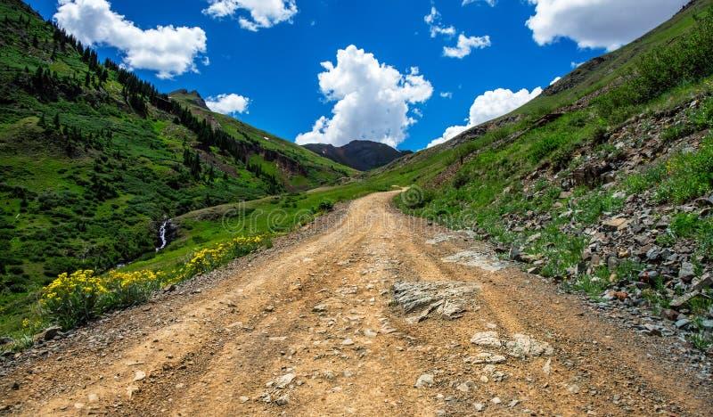 Montanhas de Colordao fotografia de stock