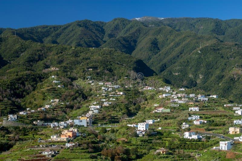 Montanhas de Cumbre, La Palma, Ilhas Canárias imagem de stock