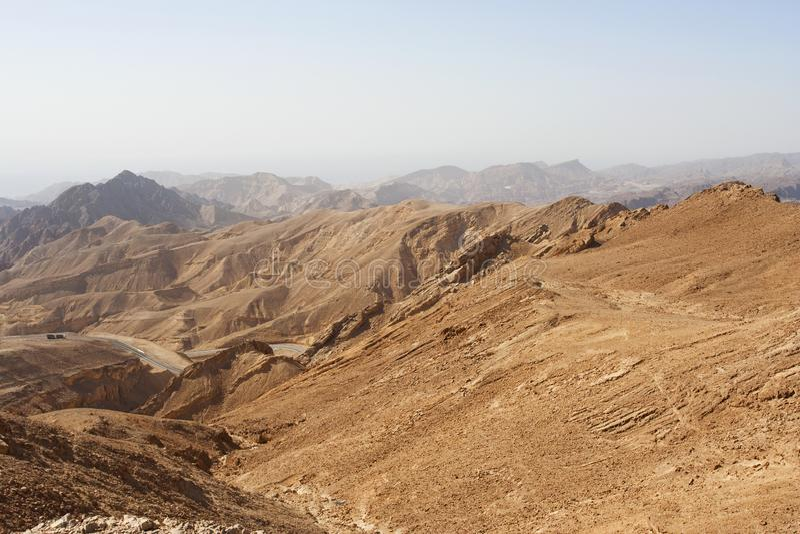 Montanhas de Eilat, Eilat, Israel fotos de stock