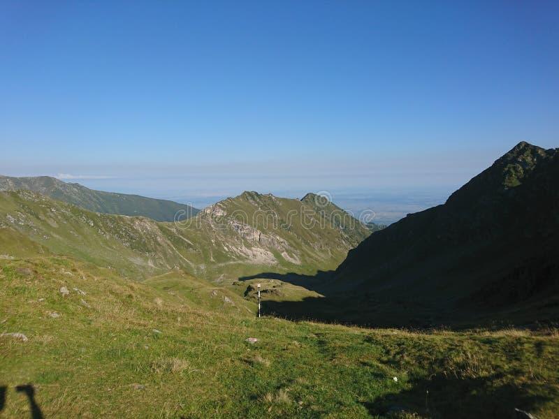 Montanhas de Făgăraș imagem de stock