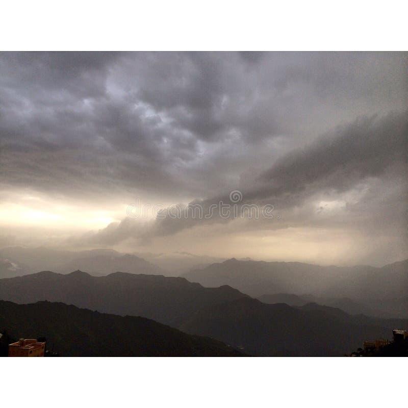 Montanhas de Faifa imagem de stock