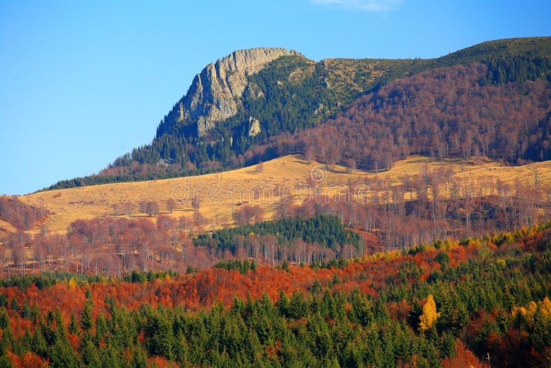 Montanhas de Gutai imagem de stock royalty free