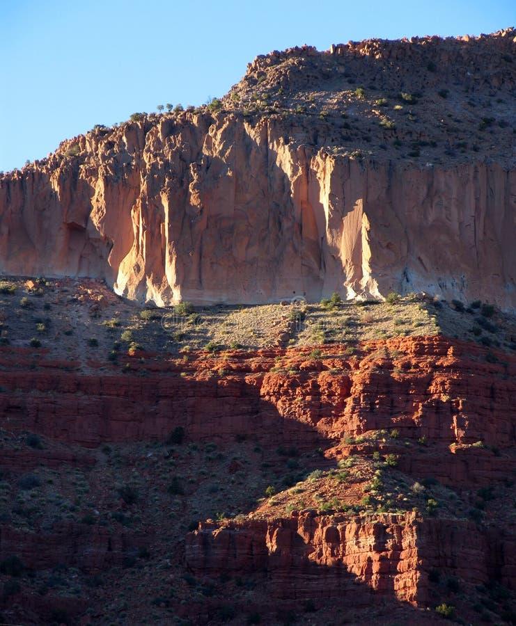 Download Montanhas de Jemez foto de stock. Imagem de geologia, penhascos - 68136