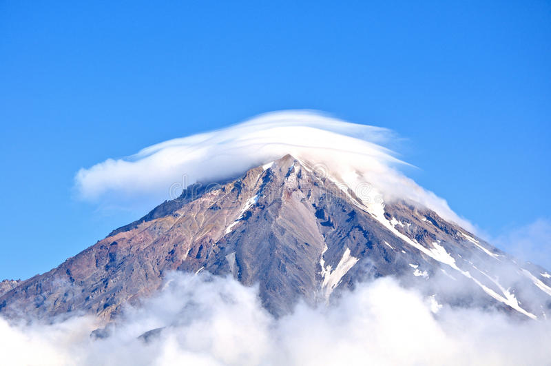 Montanhas de Kamchatka fotos de stock royalty free
