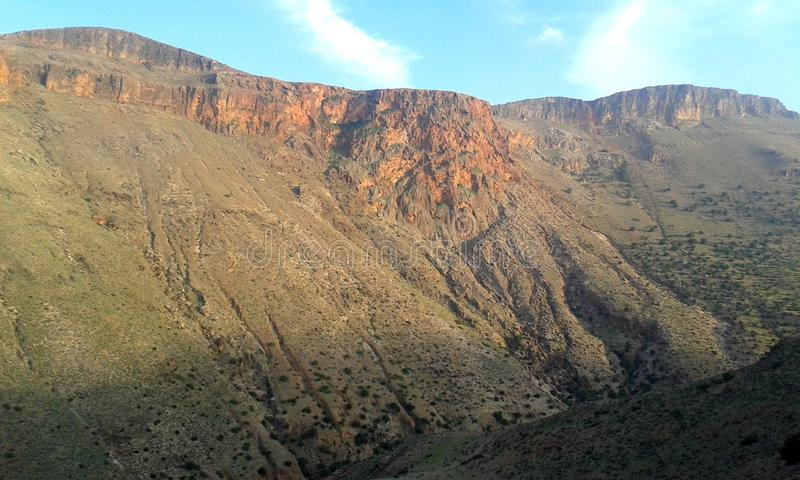 Montanhas de Morrocoo imagem de stock