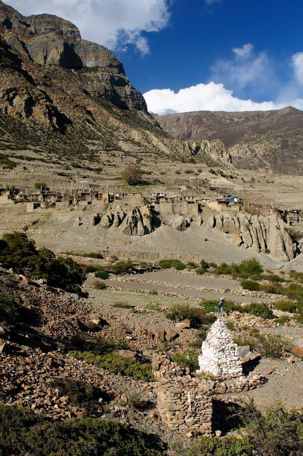 Montanhas de Nepal Himalaya imagens de stock royalty free