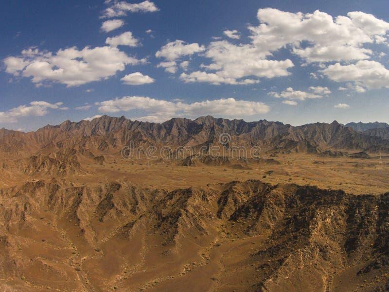 Montanhas de Omã imagens de stock royalty free