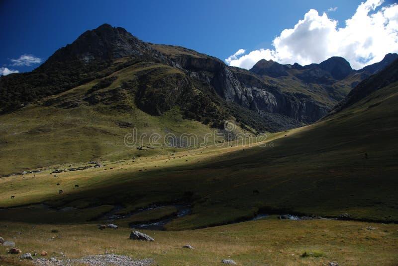 Download Montanhas de Peru foto de stock. Imagem de andes, montanha - 12801190
