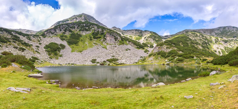 Montanhas de Pirin imagens de stock