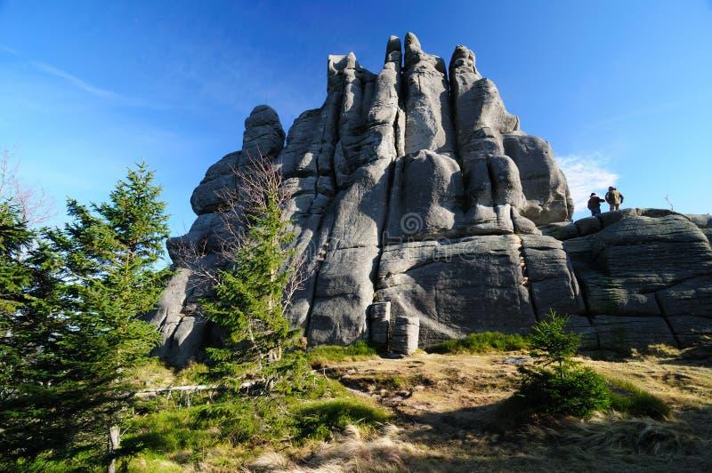 Montanhas de Poland foto de stock royalty free