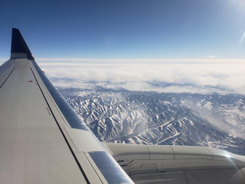 Montanhas de Rockie fotografia de stock