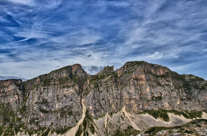 Montanhas de Rofan fotos de stock royalty free