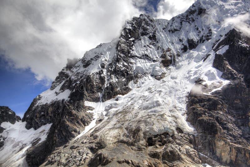 Montanhas de Salkantay do Peru fotos de stock royalty free