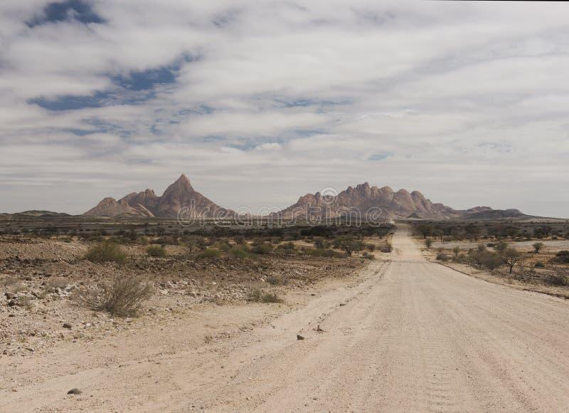 Montanhas de Spitzkoppe - Namíbia fotos de stock
