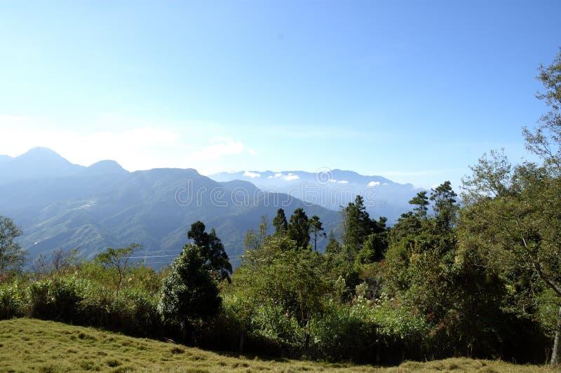 Montanhas de Taichung fotos de stock royalty free