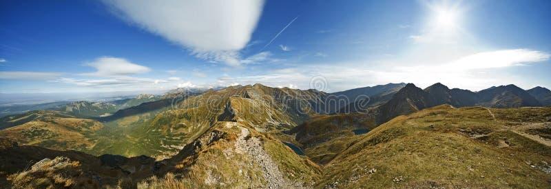 Montanhas de Tatra foto de stock royalty free