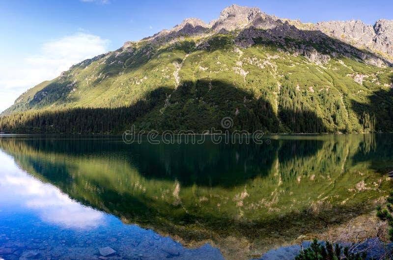 Montanhas de Tatra no Polônia em Europa fotografia de stock