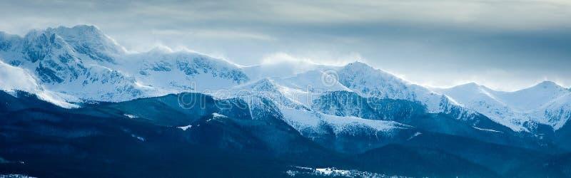 Montanhas de Tatry fotografia de stock