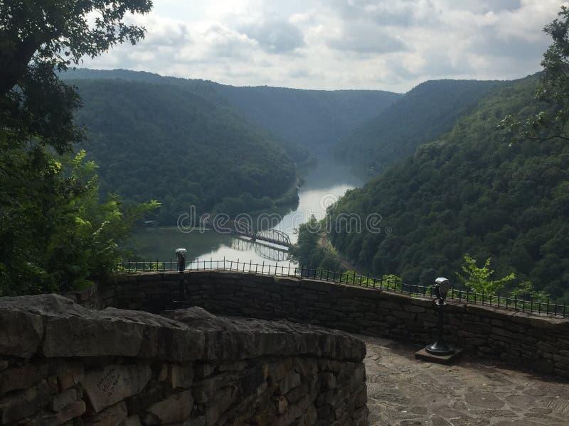 Montanhas de West Virginia imagens de stock royalty free