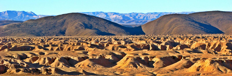 Montanhas do atlas, Marrocos foto de stock