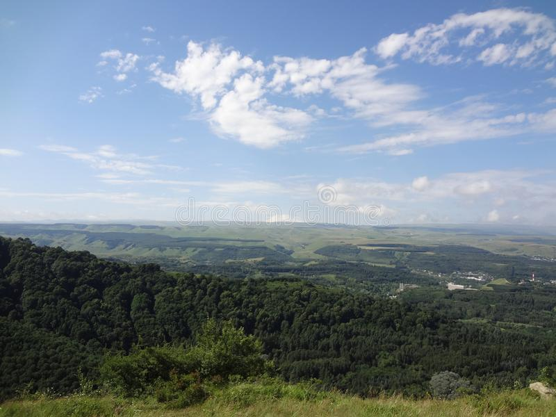 Montanhas do Cáucaso fotos de stock