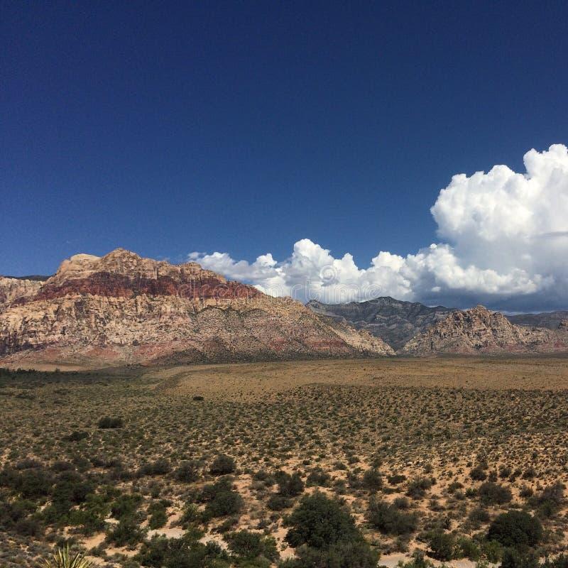 Montanhas do vermelho de Las Vegas fotos de stock