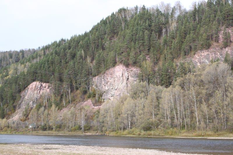 Montanhas em Basquíria fotos de stock royalty free