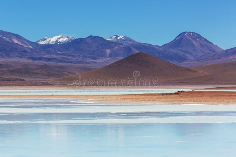 Montanhas em Bolívia imagem de stock royalty free