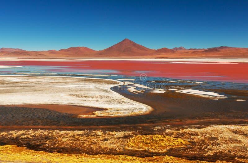 Montanhas em Bolívia foto de stock royalty free
