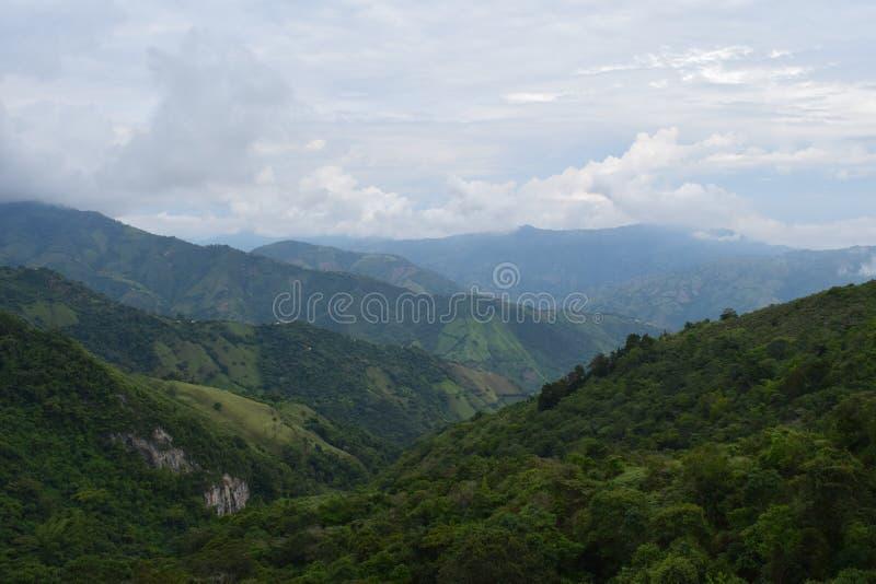 Montanhas em Colômbia imagens de stock
