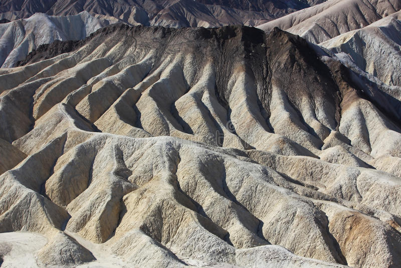 Montanhas em Death Valley foto de stock