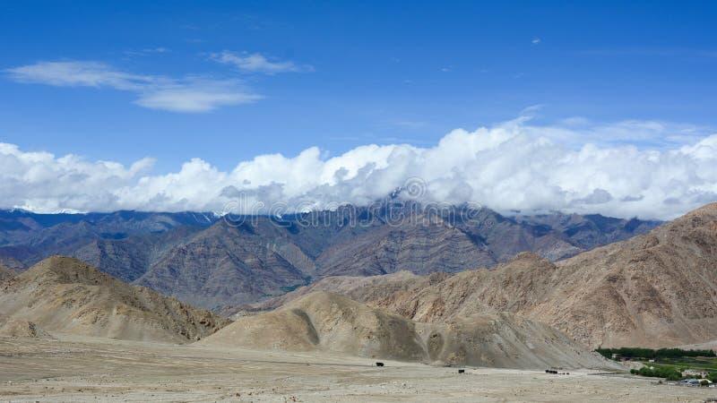 Montanhas em Ladakh, Índia imagens de stock royalty free