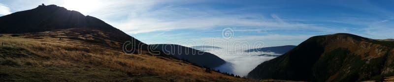 Montanhas em Poland imagens de stock
